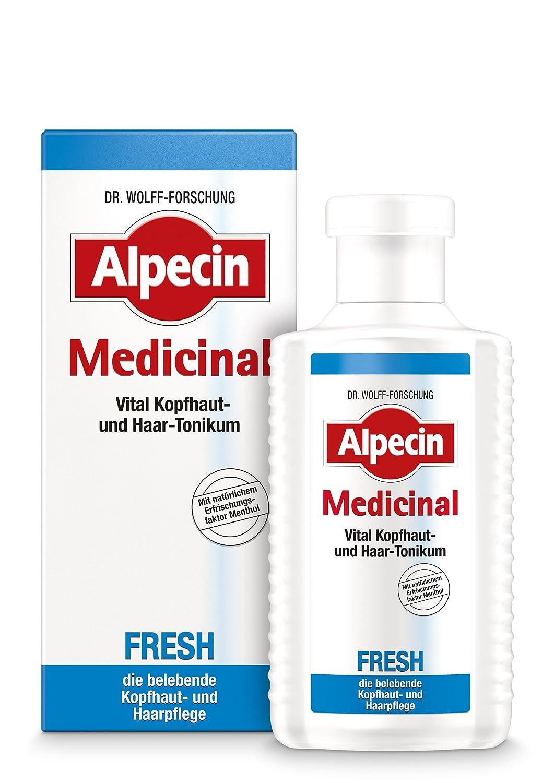 Alpecin Medicinal 20214 Vital Scalp and Hair Tonic, Fresh, 200 ml
