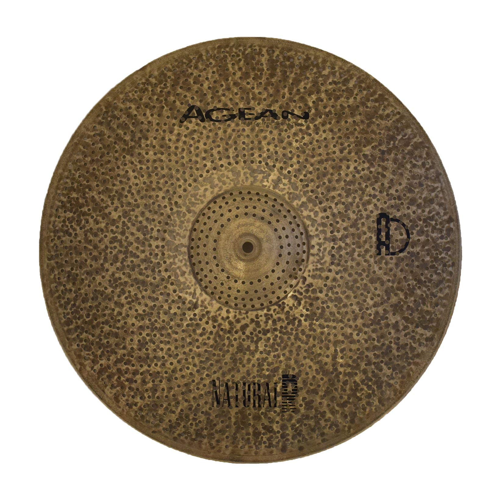 Agean Cymbals Natural R-Series 16-inch Low Volume Crash by Agean Cymbals