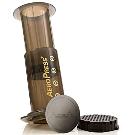 Amazon.com: The ULTRA [2-Pack] : Premium Filter for AeroPress Coffee Makers by ALTURA + FREE eBOOK with Recipes, Tips, and More - Stainless Steel, ...