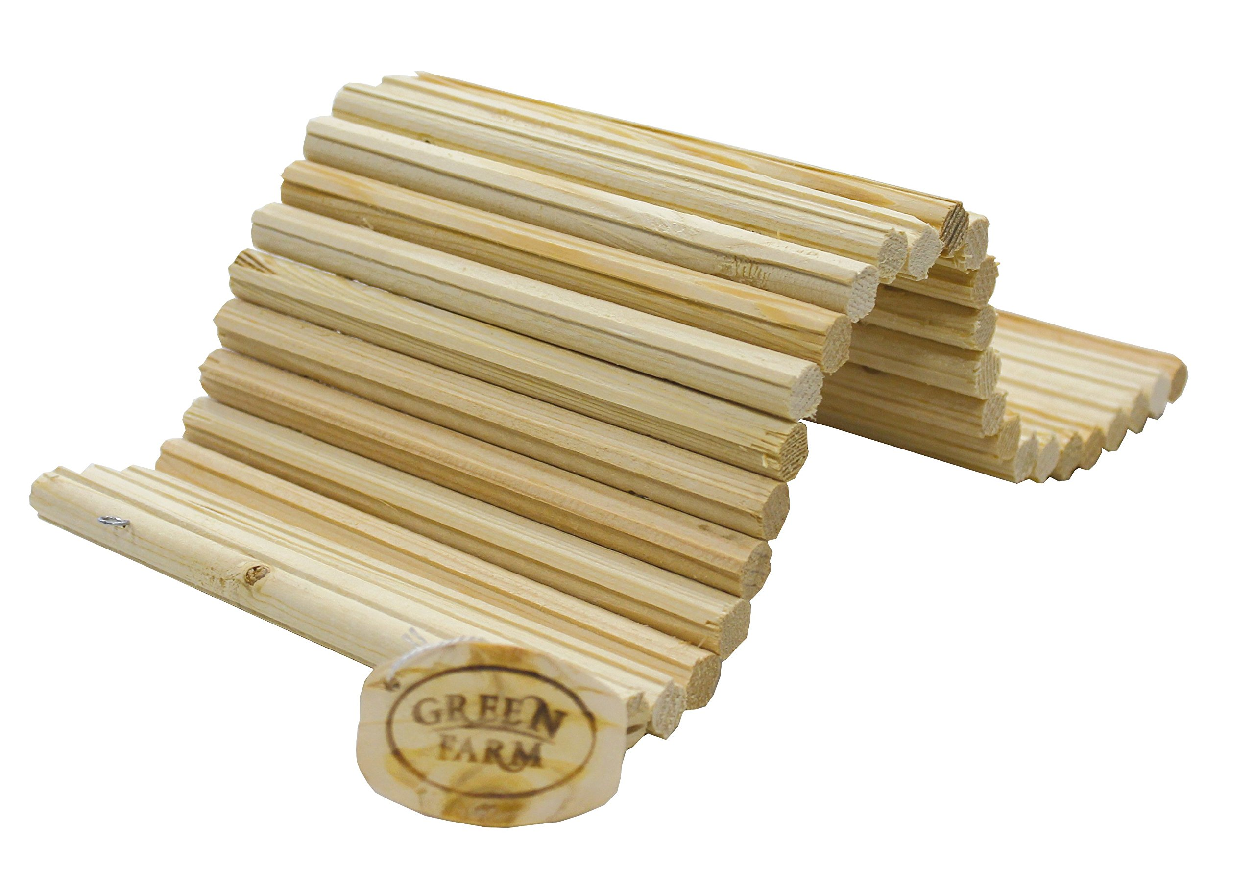Pine Wood Sticks Flexible Hideout Ladder Toy Medium 14'' Long