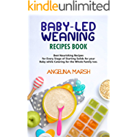 BABY-LED WEANING RECIPES BOOK: Best Nourishing Recipes for Every Stage of Starting Solids for your Baby while Catering…