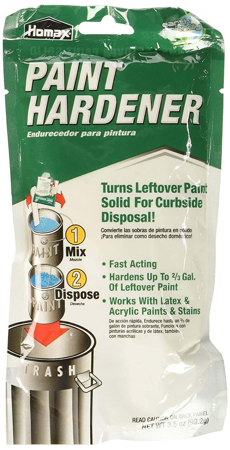 Homax 3535 Fast Acting Waste Away Paint Hardener – 3.5oz 6 Pack