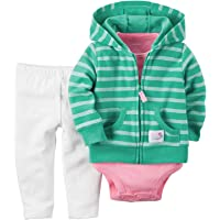Carter's Baby Girls' 3 Piece Cardigan Set 121g383