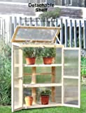 Kealive Cold Frame Greenhouse Portable Wooden