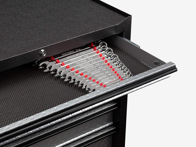 TEKTON 19-Tool Wrench Organizer Rack Red ORG29219