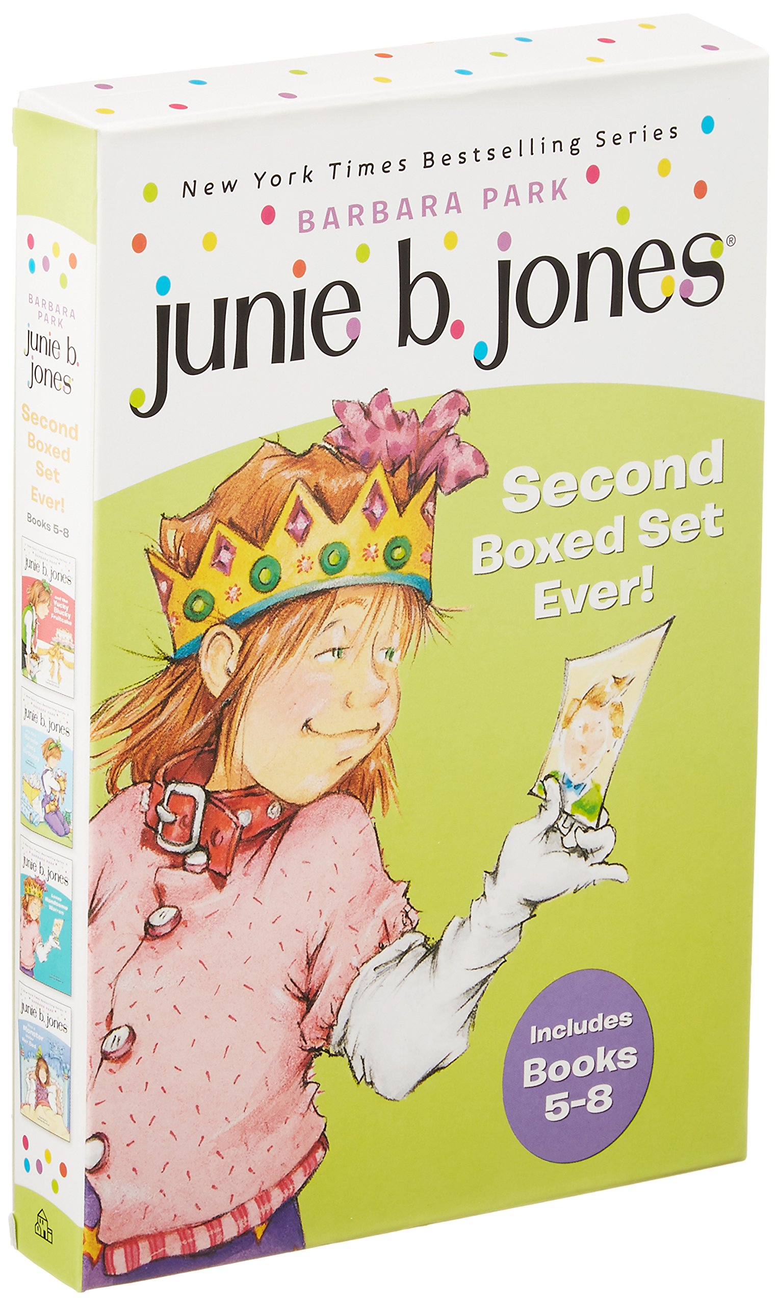 junie b jones u0027s second boxed set ever books 5 8 barbara park