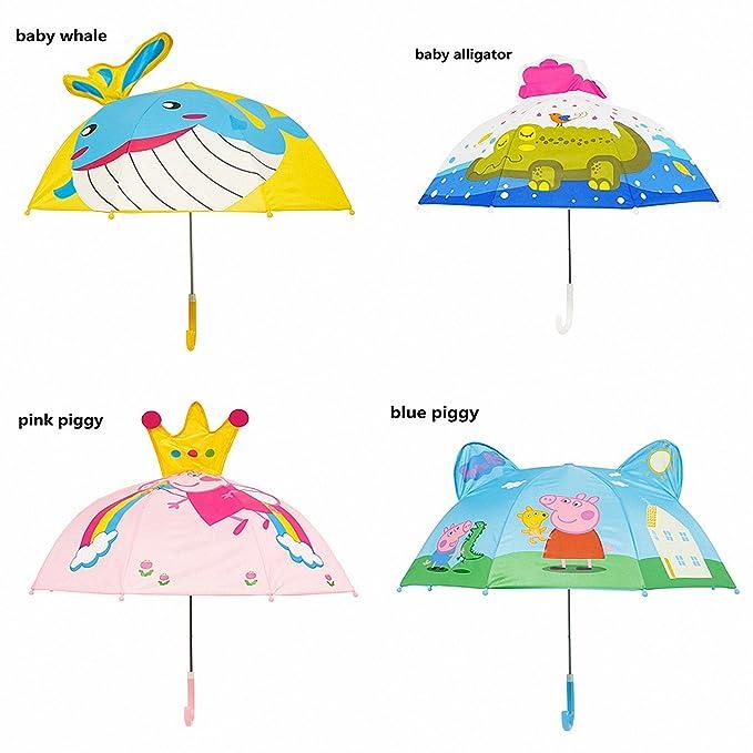 Amazon.com: Baolustre Deep-Sea Shark Cartoon Patterns Umbrellas Kids Boys Girls Umbrellla For Children Paraguas Parasol Fashion Umbrellas-01 Style1: Garden ...