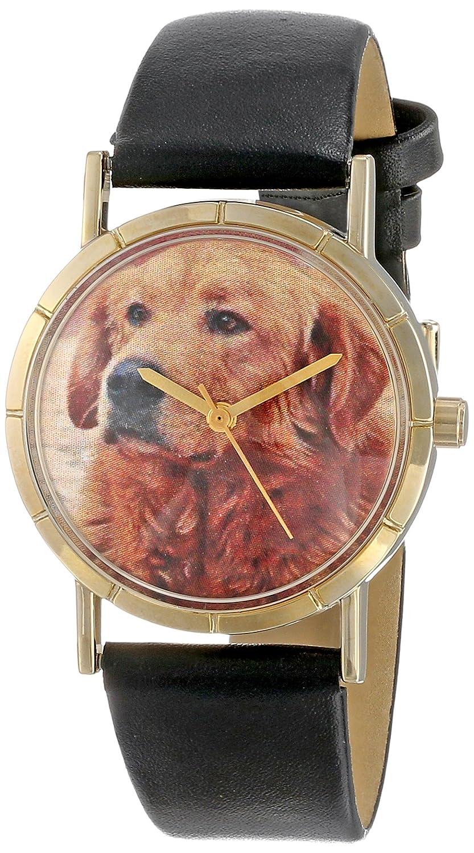Whimsical Watches P-0130042 - Reloj analógico de Cuarzo Unisex, Correa de Cuero