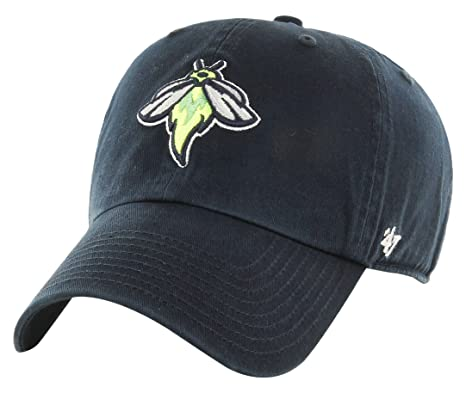 Minor League Baseball Columbia Fireflies Adult Minor League Baseball  47  Clean Up Adjustable Hat bc85e37edce