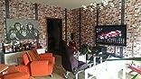 muriva tapete loft ziegelsteine und balken mehrfarbig baumarkt. Black Bedroom Furniture Sets. Home Design Ideas