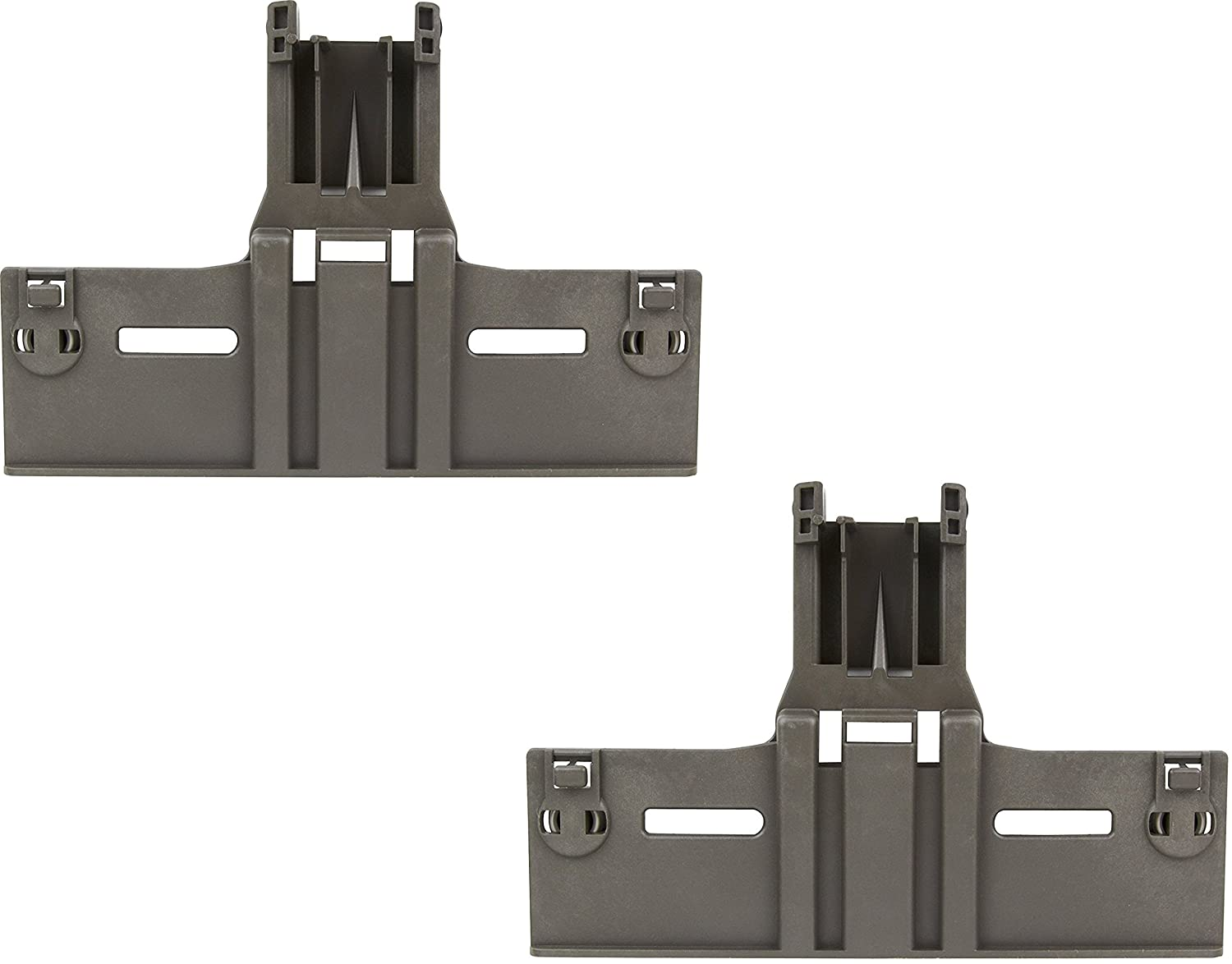 (2 PACK) W10350376 Upper Rack Adjuster for Whirlpool, KitchenAid Dishwasher