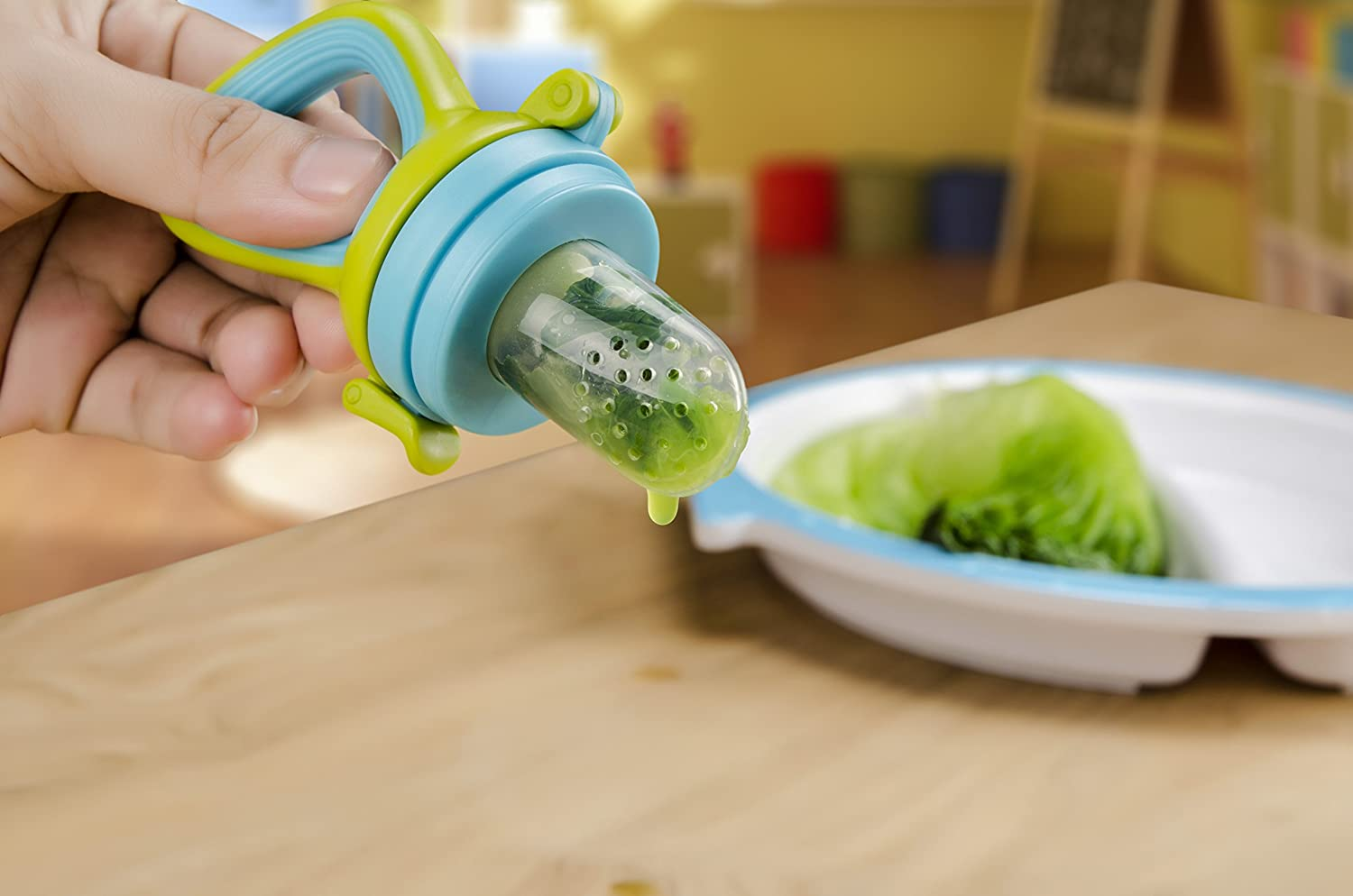Kidsmile Pulp Silicone Fresh Food Feeder With 3 Size