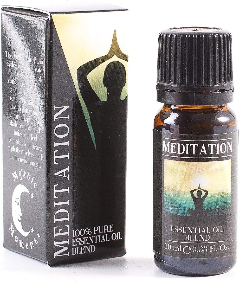 Mystic Moments Aceite Esencial para meditación, 10 ml -100% puro: Amazon.es: Hogar
