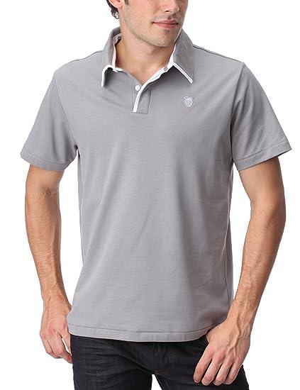 K-SWISS - Camiseta de pádel para Hombre, tamaño XL, Color Gris ...