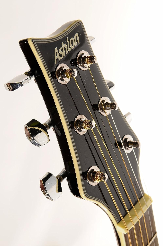 Ashton SL29TBB de guitarra acústica con sintonizador de in-integrado de Slim-línea de: Amazon.es: Instrumentos musicales