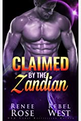 Claimed by the Zandian: An Alien Warrior Romance (Zandian Brides) Kindle Edition