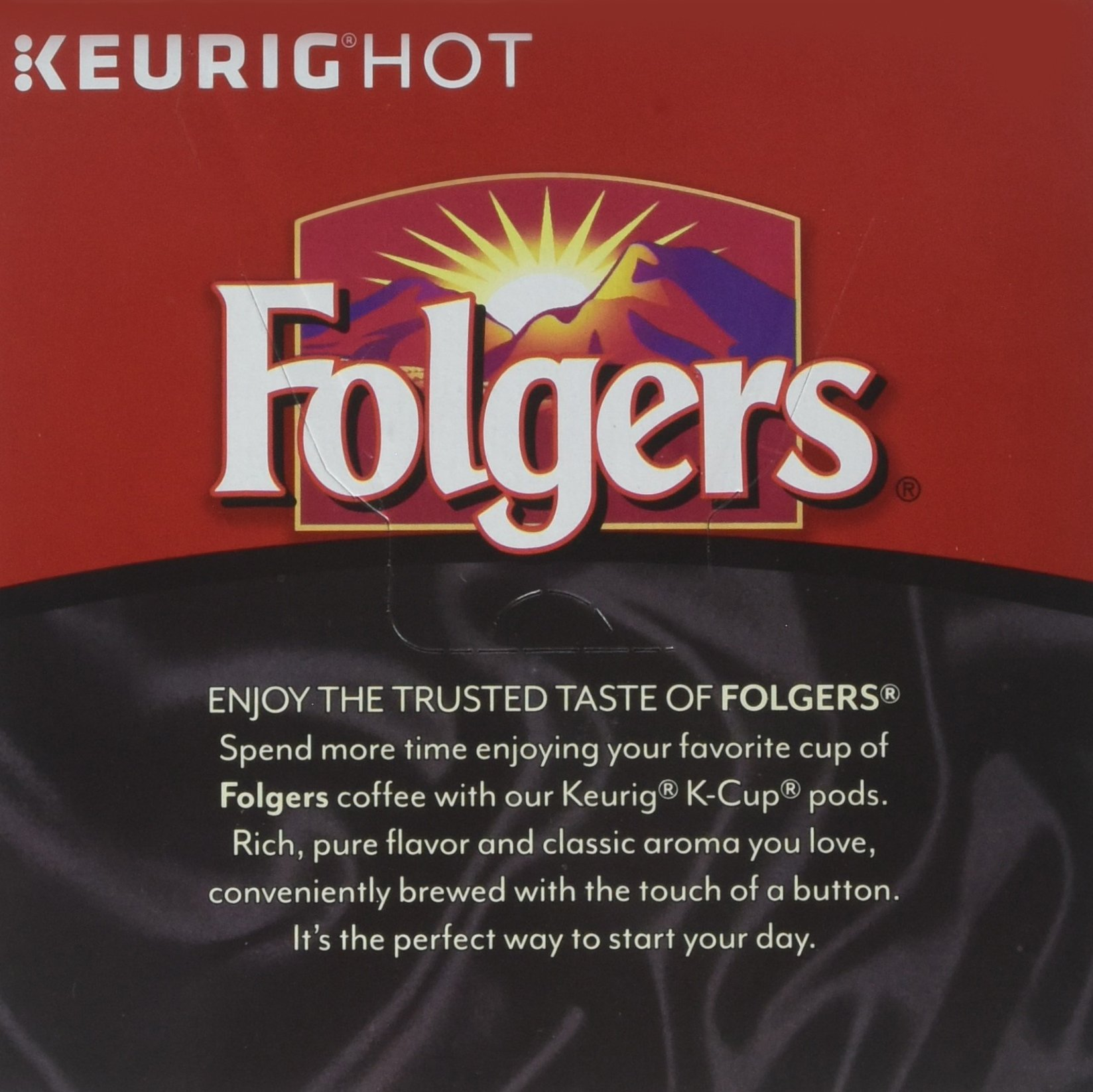 Folgers Black Silk Coffee, Dark Roast, K-Cup Pods for Keurig K-Cup Brewers, 18-Count (Pack of 4) by FOLGERS K CUPS (Image #4)