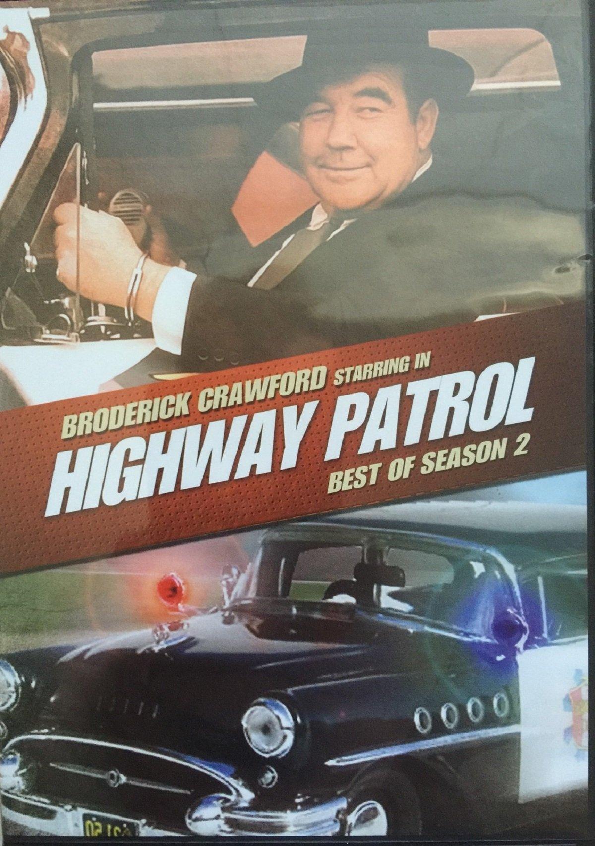 Highway Patrol Best of Season 2 Dvd by United Artists / MGM