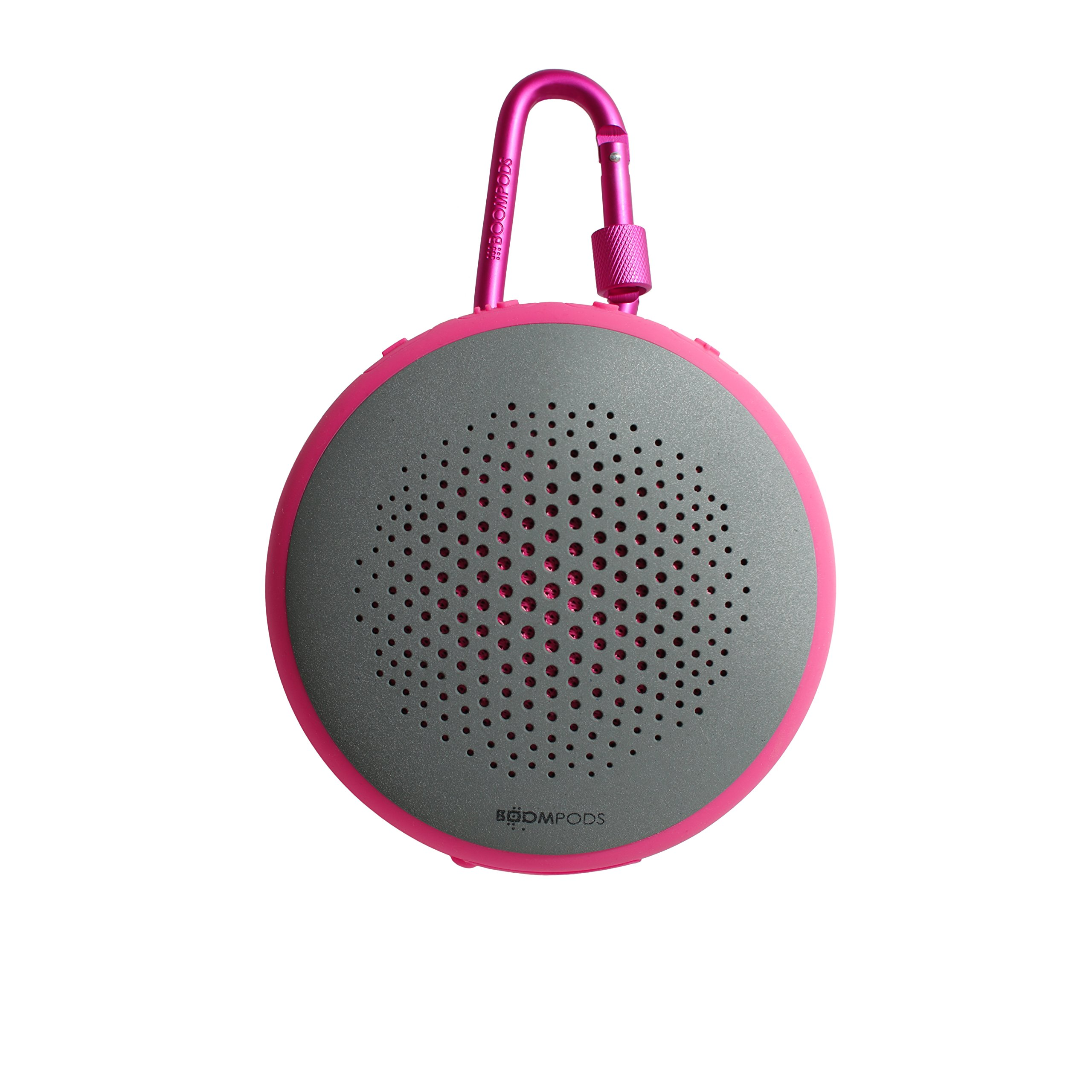 Boompods Fusion Bluetooth Outdoor Portable Speaker (Pink) -.