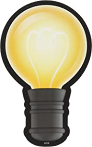 Teacher Created Resources White Light Bulbs Accents (3557)