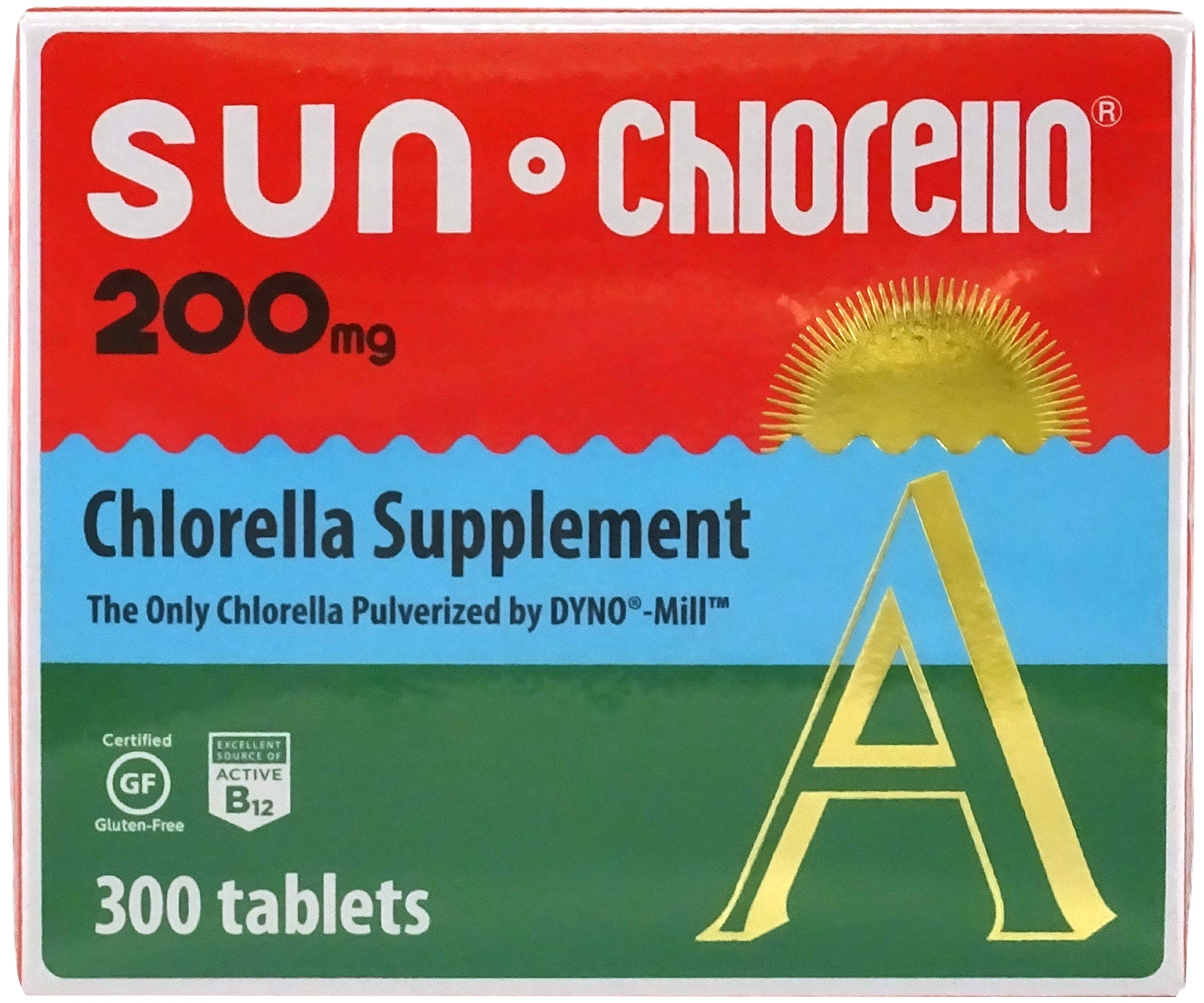 Sun Chlorella, Dietary Supplement 200mg, 300 Tablets