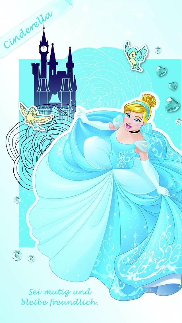 ディズニー シンデレラ iPhoneSE/5s/5c/5(640×1136)壁紙画像