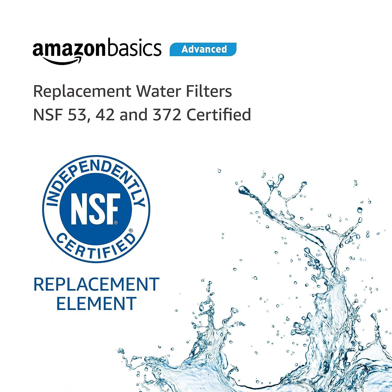 Basics Replacement Maytag UKF8001 Refrigerator Water Filter Cartridge Standard Filtration
