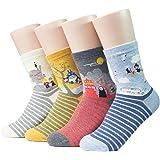 Socksense Japan Animation Series Women's Socks Made in Korea 4 Pairs Free Size