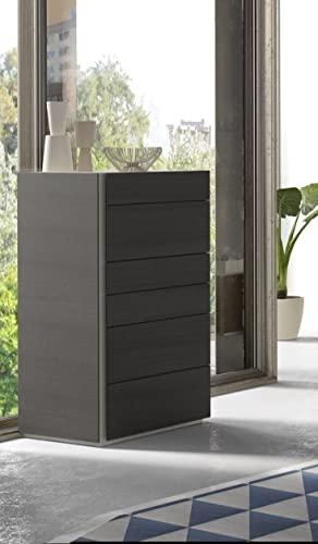 J and M Furniture Faro 6 Drawer Chest