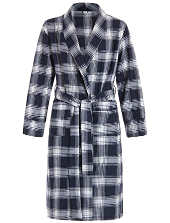 630938975a Latuza Women s Cotton Flannel Robe at Amazon Women s Clothing store