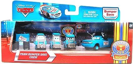 Amazon Com Disney Pixar Cars Bumper Save Crew Set Toys Games