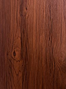 """17.7""""x118"""" Wood Wallpaper Red Wood Contact Paper Wood Peel and Stick Wallpaper Furniture Red Desk Table Wood Wallpaper Self Adhesive Wallpaper Wood Grain Faux Film Roll Wall Cabinet Shelf Draw Liner"""