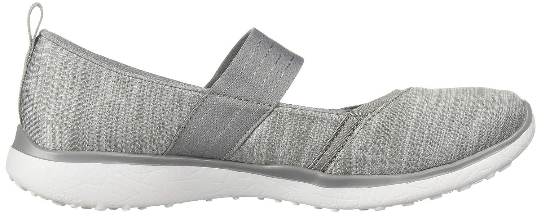 Skechers Damen Microburst-Tender Soul Slip On Sneaker, 41 EU Gry