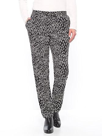 6644cac0d828d Balsamik - Pantalon fluide imprimé ethnique - femme