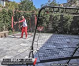 "PowerNet Baseball and Softball Adjustable Rebounder 51"" W x 67"" H 