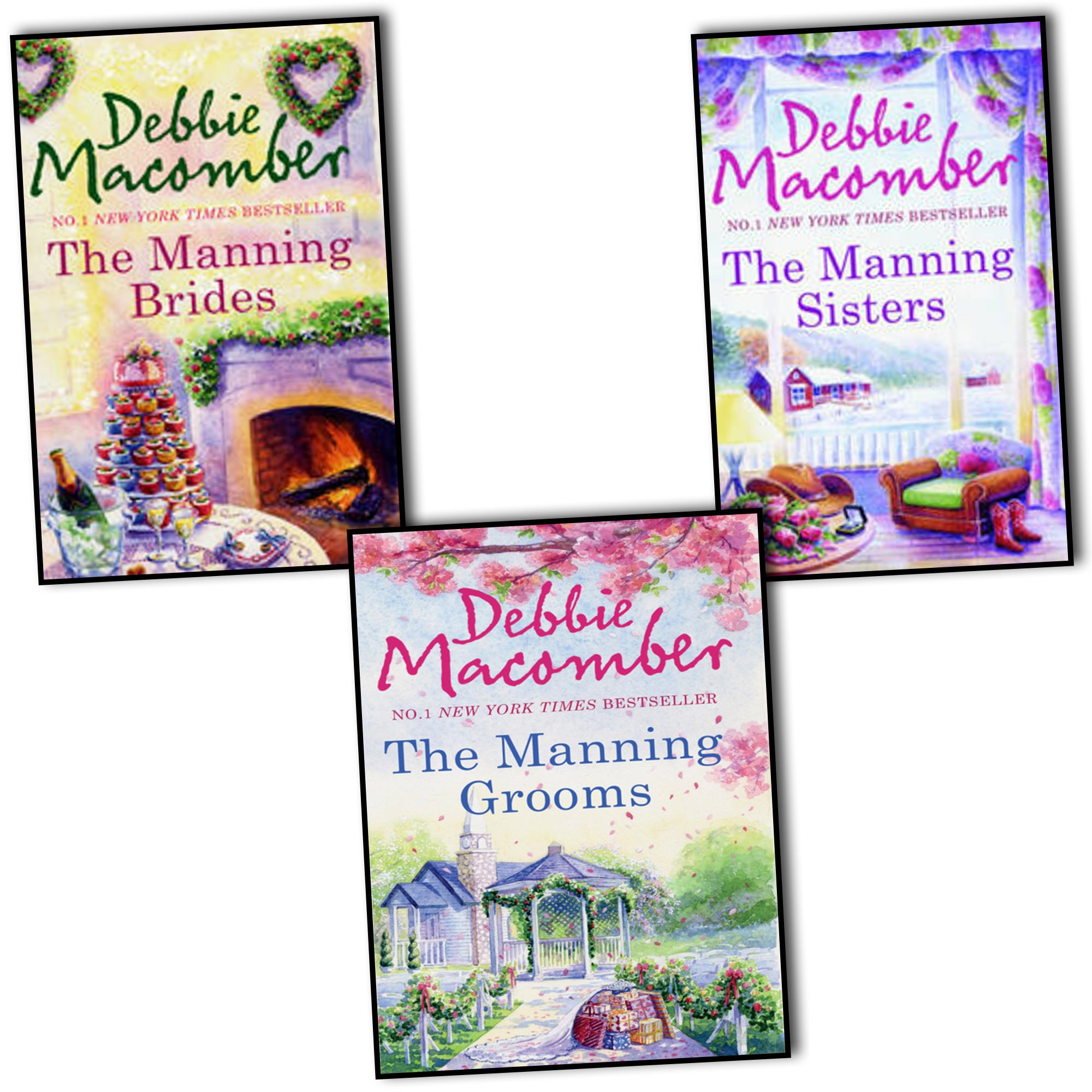 Debbie Macomber The Manning Trilogy 3 Books Collection Pack Set RRP: £23.97 (The Manning Grooms, The Manning Brides, The Manning Sisters) PDF