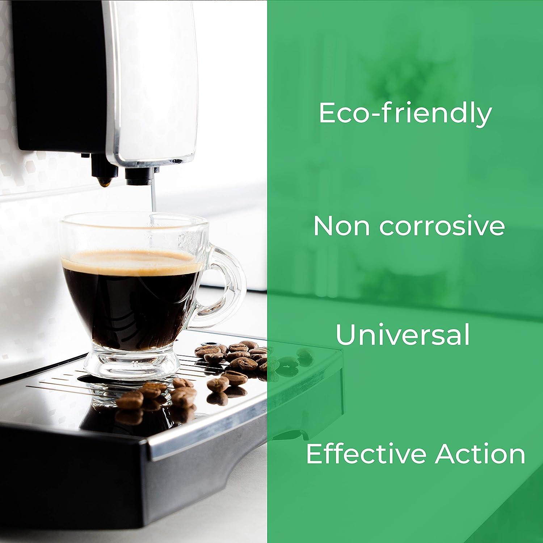 Descalcificador para Todas Las Cafeteras. Todas Las Marcas, Bosch, Nespresso, Krups, DeLonghi, Tassimo.Producto CE.: Amazon.es: Hogar