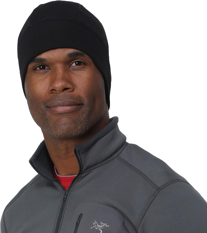 TrailHeads Helmet Liner and Skull Cap for Men Black