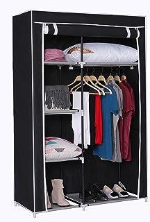 Home Like Portable Closet Storage Wardrobe Armoire Cabinet Temporary Closet  Handy Clothes Closets Bureau Non