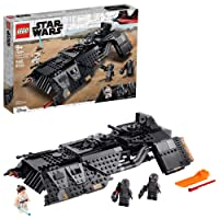 LEGO Star Wars: The Rise of Skywalker Knights of Ren Transport Ship 75284 Spacecraft Set, Features Knights of Ren and Rey Minifigures to Role-Play Star Wars Missions, New 2020 (595 Pieces)