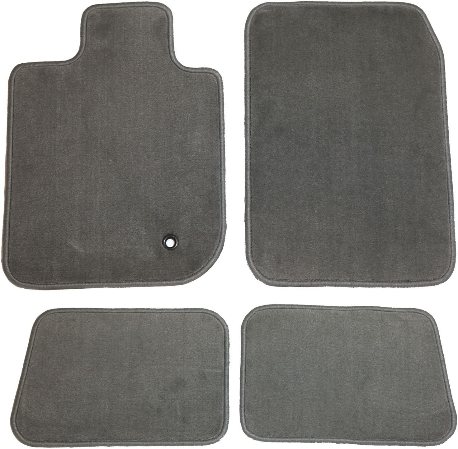 Passenger /& Rear GGBAILEY D4822A-S2B-GY-LP Custom Fit Automotive Carpet Floor Mats for 1999 Land Rover Discovery Grey Loop Driver