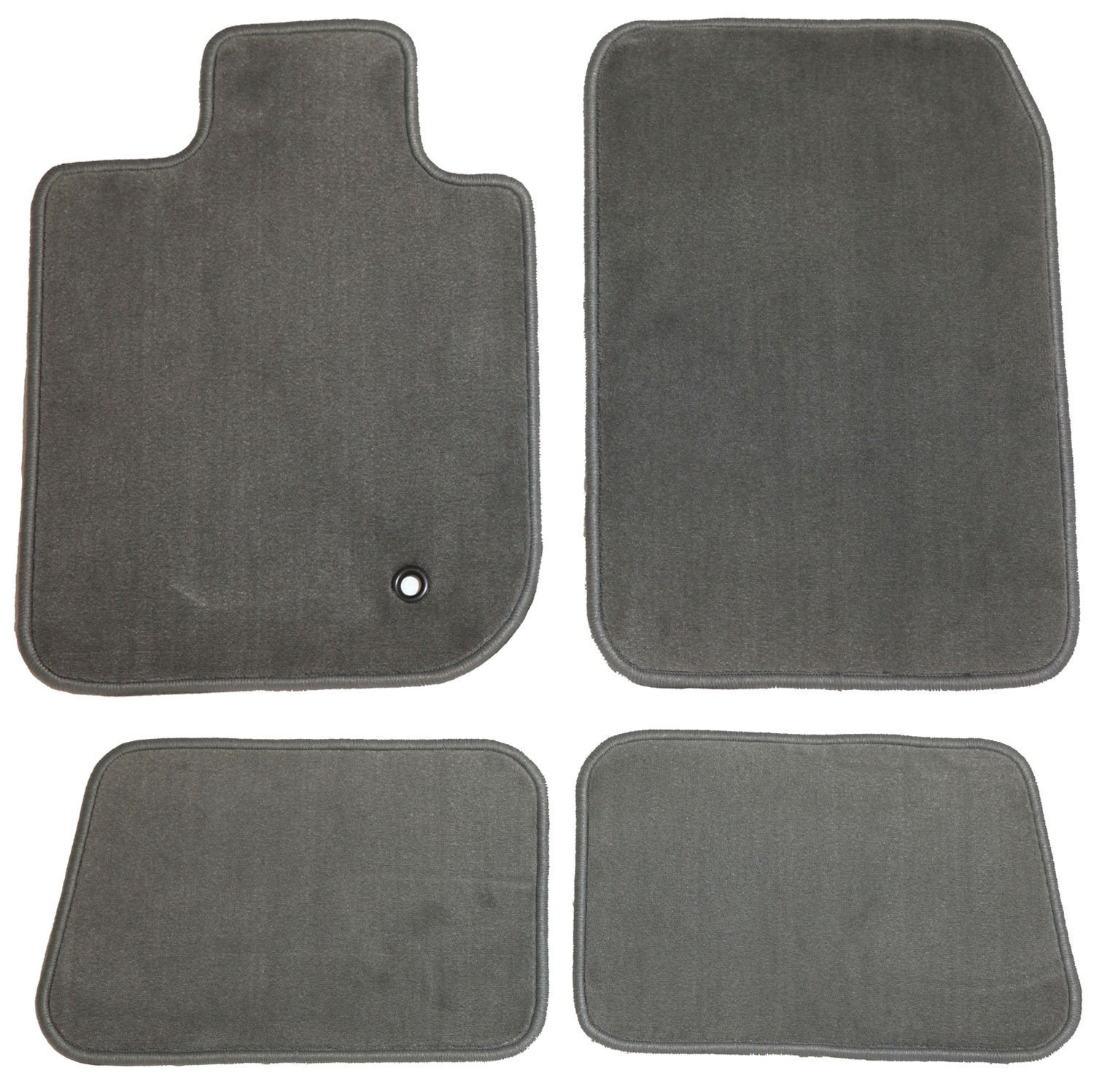 GGBAILEY D4769A-S2B-GY-LP Custom Fit Car Mats for 2002 2003 Passenger /& Rear Floor 2004 Isuzu Axiom Grey Loop Driver