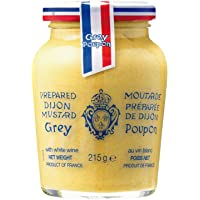 Grey Poupon Dijon White Wine Mustard, 215g