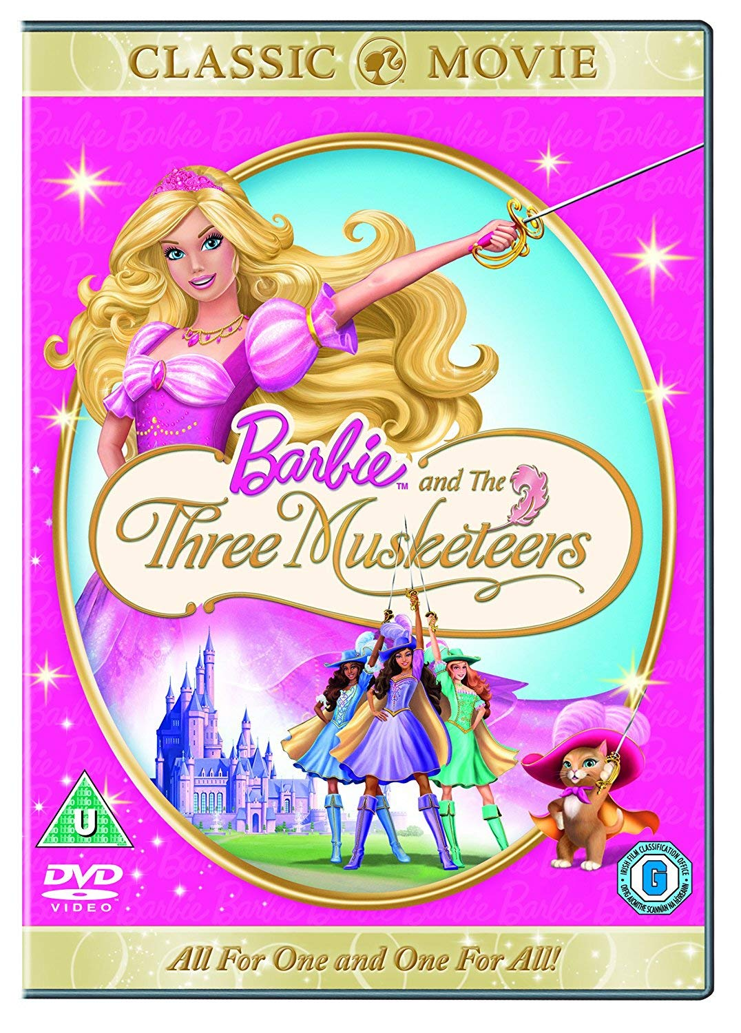 Amazon Com Barbie Sing Along With Barbie Barbie And The Three Musketeers Dvd Movies Tv