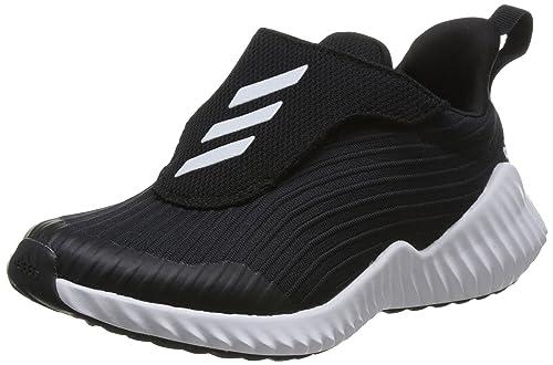 bdb3bd0e7c3385 adidas Unisex Kids  Fortarun Ac K Fitness Shoes Black (Negro 000) 10.5 UK