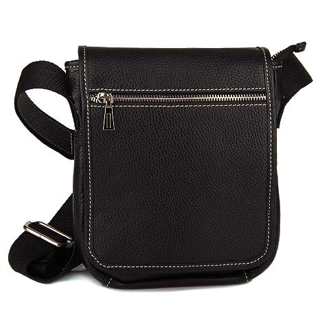 8c239d5521 Amazon.com   Clearance Sale! Shoulder Small Bag for Men Genuine Leather  Crossbody Handbags   Messenger Bags