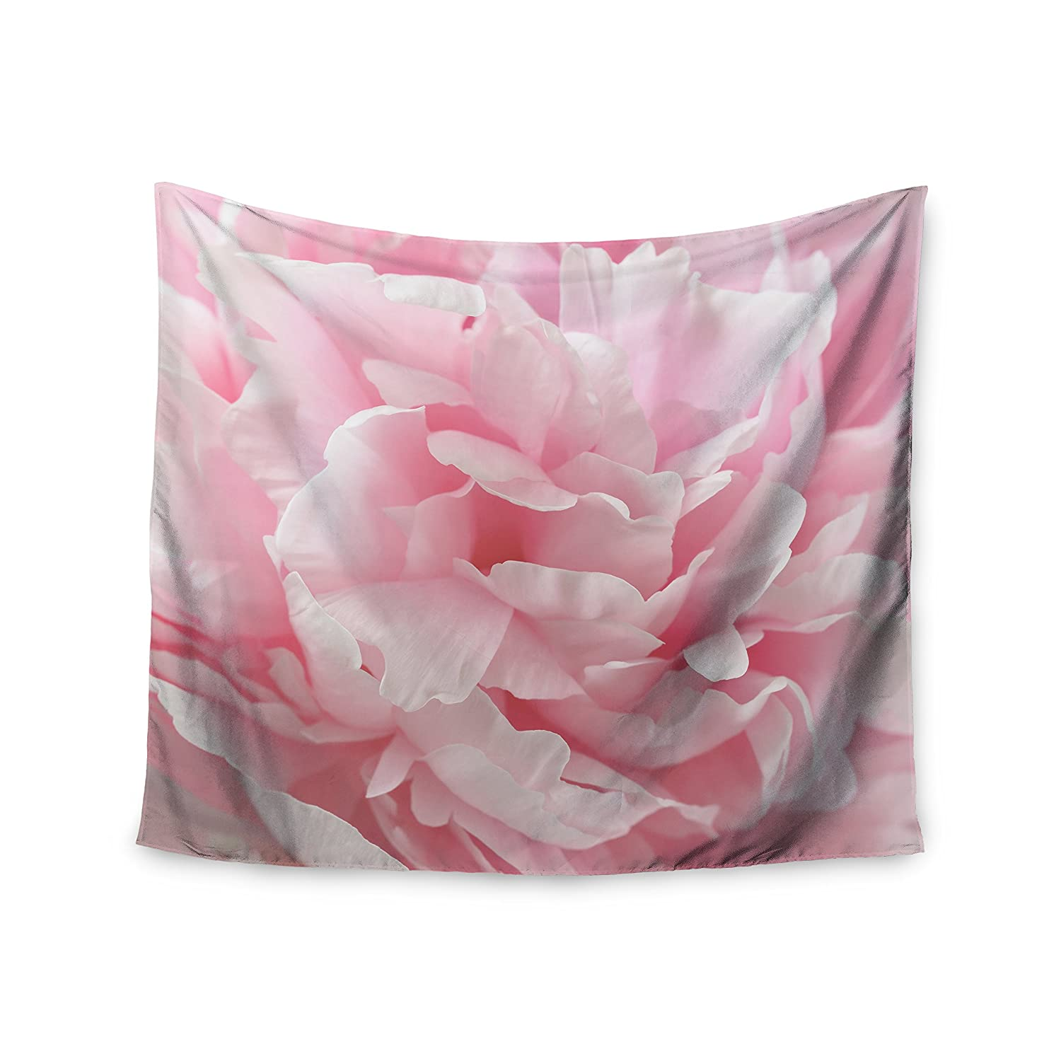 68 x 80 Wall Tapestry Kess InHouse Suzanne Harford Enchanting Pink Pastel Photography