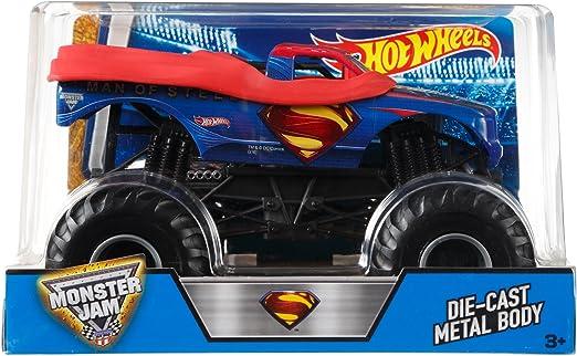 Hot Wheels Monster Jam Scale Man of Steel Vehicle, Multi Color