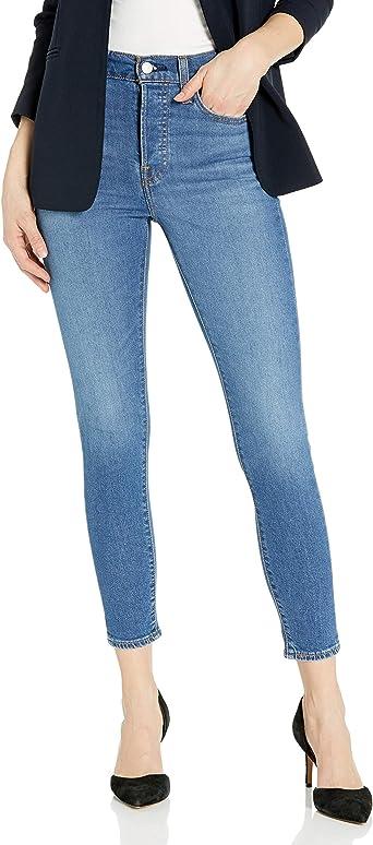 Amazon Com Levi S Wedgie Pantalones De Mezclilla Estrechos Para Mujer Clothing