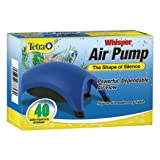 Tetra Whisper Air Pump 20 To 40 Gallons, For